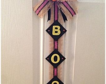 Halloween BOO Wall Hanging