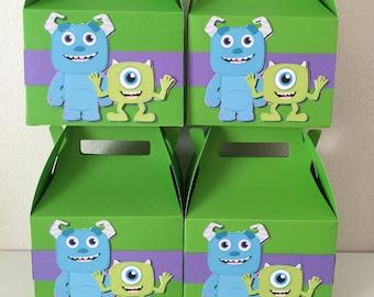 monsters inc favor boxes (4pc)