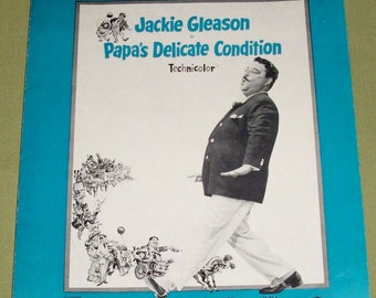 Call Me Irresponsible Sheet Music 1962 - Jackie Gleason - Papa's Delicate Condition