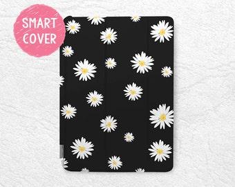 Daisy Flower Smart Cover for iPad Mini, iPad mini 2 retina, iPad Pro, iPad Air, iPad Air 2, Lovely Floral case for New iPad 9.7 2017 -P36