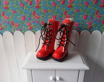 SALE * boots high red for Blythe and Pure neemo