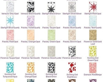 25 Pack of Pattern Blank Cards 3 7/8 x 5 1/4
