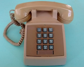 Vintage Bell Push Button Telephone Free Shipping
