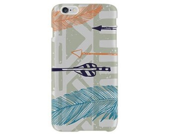iPhone 6 Case - iPhone 6s Case #Feathery Tribal Cool Design Hard Phone Cover