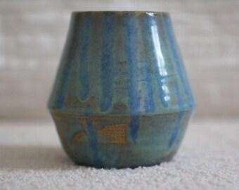 Blue, Green Vase