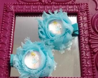 Cinderella Inspired Hair Clip Set
