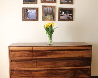 Mid Century Modern Dresser 9 Drawer