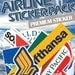 AIRLINE Stickers, Fun Sticker, Unique sticker, planner stickers_OTB