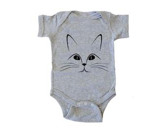Black Cat Onesie, Baby Halloween Costume, Baby Shower Gift, Baby Costume, Toddler Costume, Funny Halloween Costume, Baby Halloween Clothes