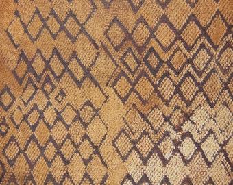 African Tribal Kuba Cloth Cut Pile And Raffia Prestige Cloth Textile Currency DRC Zaire N20