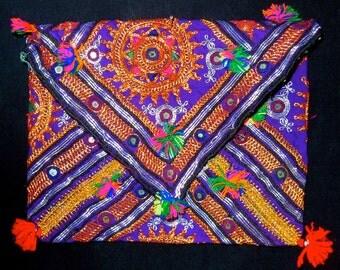 Banjara Gypsy Clutch Purse Messenger Bag Vintage India