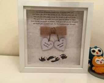 Baby memorial keepsake