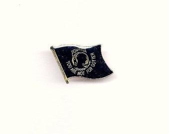vintage military powmia flag hatlapel pin - Pow Mia Hat