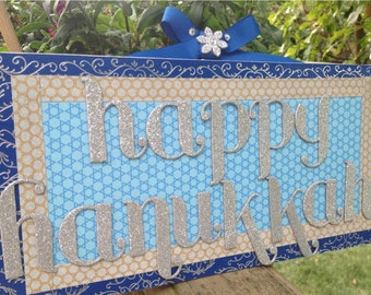 Hanukkah Decoration, Hanukkah Decor, Hanukkah Sign, Happy Hanukkah, Chanukah Decoration, Chanukah Sign, Chanukah Decor, Happy Chanukah