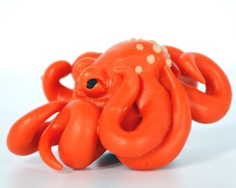 Mini Octopus Sculptures in assorted colors and styles