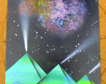 Space Pyramids and Nebulae