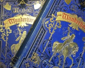 Des Knaben Wunderhorn, by Ludwig A. Arnim, Clemens Brentano, 2 Vol., Illustrated