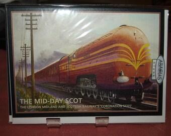 Coronation Scot Train Card