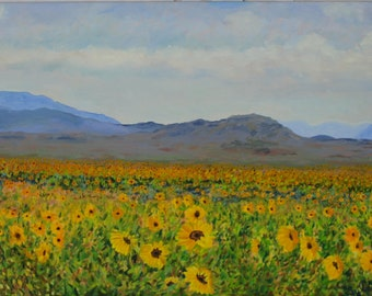 SUNFLOWERS in BIG BEND