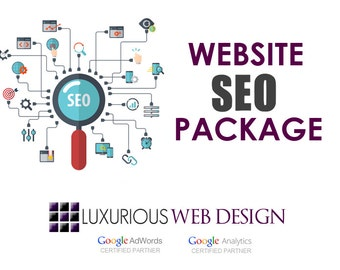 Website SEO Package - Custom SEO - Search Engine Optimization - Online Marketing for Websites (Wordpress and Wix)