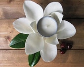 """Soy Candle, Magnolia Cherry, """"Bushido"""", 6oz, Tin candle, Scented Candle, Home Decor, Natural Scent, Luxury Favors, Wedding"""