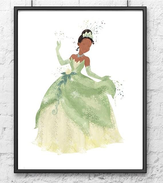 Princess Tiana Art: Disney Princess Tiana Disney Princess Tiana Art By