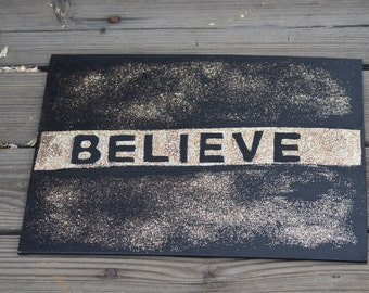 Justin Bieber Believe Painting