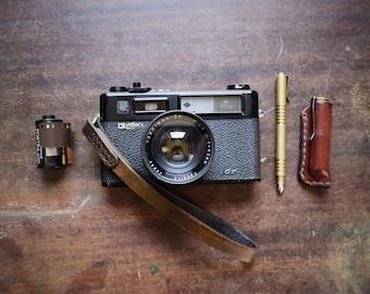 Leather Camera Wrist Strap / Leather Camera Strap ~ Hitch & Timber