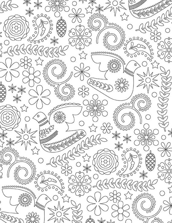 christmas in sweden coloring pages - photo#31