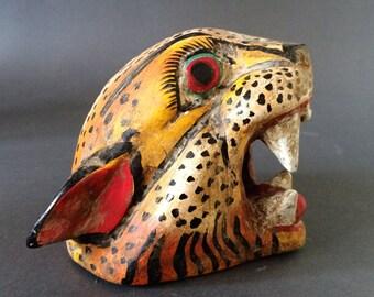Mexican jaguar mask