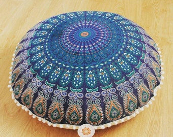 Pouf Ottoman Floor Cushion Seating Area Meditation Cushion Pouffe Pouf Seating Decorative Pillow Floor Pillow Seat Cushion Floor Pouf