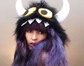 Monster Festival Hood, Wild Animal Fancy Dress Costume