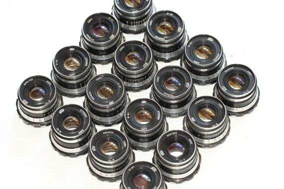 Industar-61 53mm 50mm f/2.8 lens M39 Zorki Leica 35mm film camera RF 16 pcs. N16