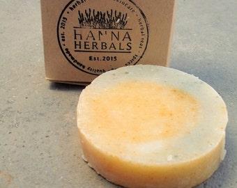 Nettle and Yarrow Kitchen Soap - Herbal soap - vegan soap - shea butter soap