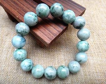 Free shipping Chinese jade beaded bracelet
