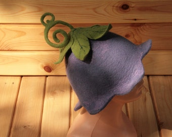how to make a felted wool hat