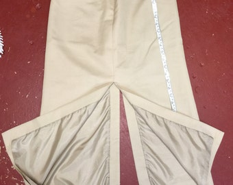 Striaght Midi Skirt Vintage Slit