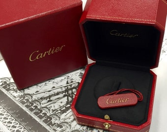 Cartier ring box + new card !