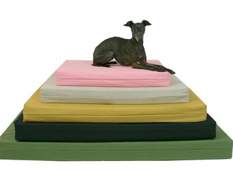 Dog Bed Cover, Toy Size, Organic Cotton Canvas,  Dog Bed Duvet, Pet Bed