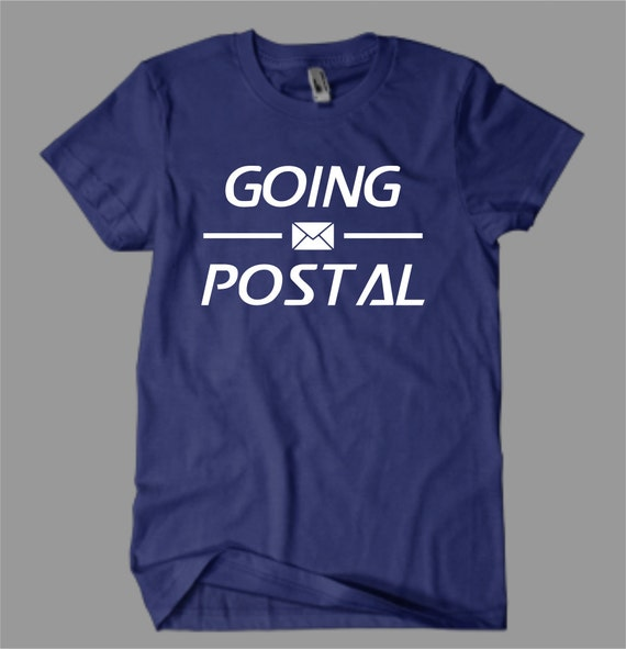Mailman shirts post office shirt graphic tee usps by vinylteez for Usps t shirt shipping
