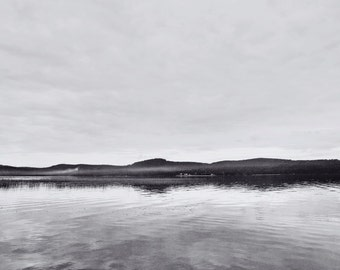 Lake in Finland, Fine Art Photographic Print, Serene, Landscape
