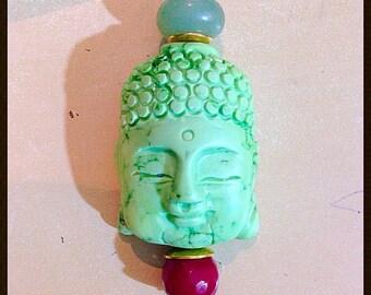 Buddha in hard stone