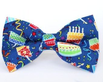Birthday Bow Tie | Bow Tie for Boys | Bow Tie for Dog | Bow Tie for Men | Gift for Him | Pet Lover | Men Bow Tie | Boys Bow Tie