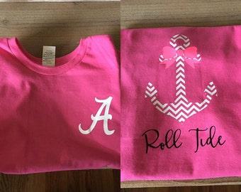 Alabama Anchor Tshirt