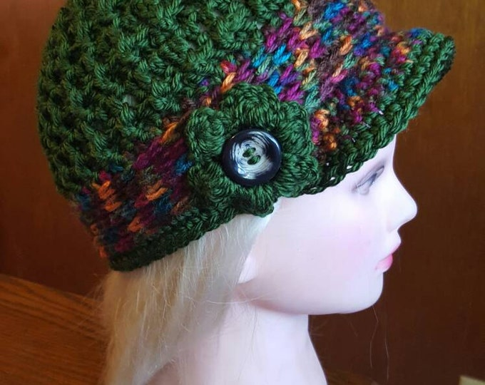 Handmade Crochet Teen-adult 20'sHat
