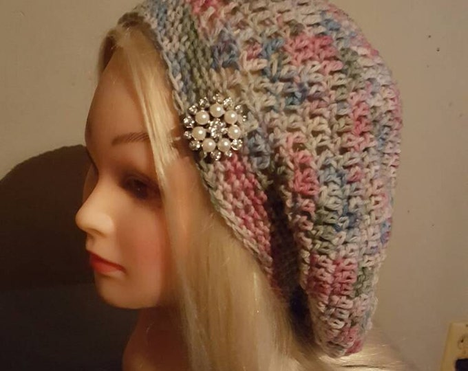 Handmade Crochet Bramble Slouchy Hat