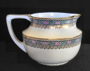 Crown Imperial China Porcelain Cider Pitcher made in Austria circa 1910s