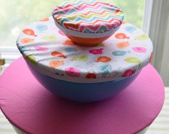 Trio reusable bowl cover