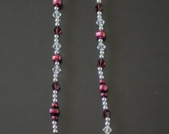 Raspberry Fresh Water Pearl Necklace
