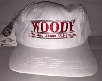 Vintage Woody Ohio State Buckeyes Snapback hat cap rare 90s The Game bar NCAA College